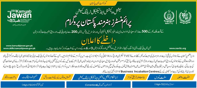 Hunarmand Pakistan Program Free Course 2020