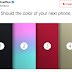 OnePlus Teases Four Colors For OnePlus 5
