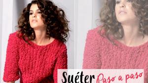 Suéter Moderno Dos Agujas / Paso a paso