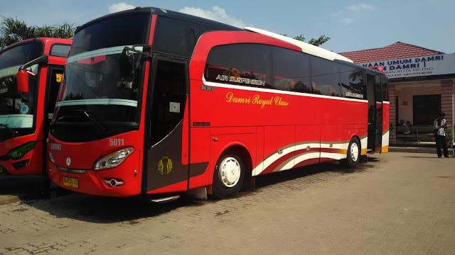 Harga Tiket Bus Damri Gambir