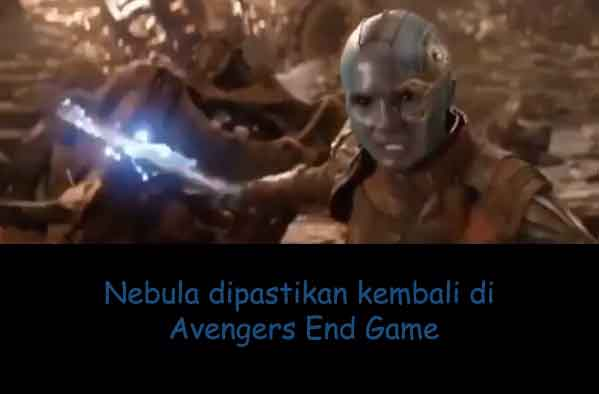 nebula dipastikan ada di avengers end game