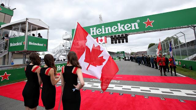 F1 Canadian Grand Prix.