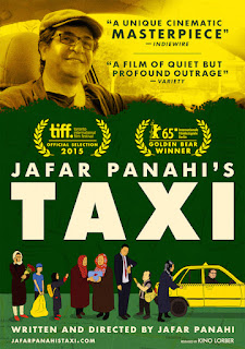 Jafar Panahi's Taxi Poster