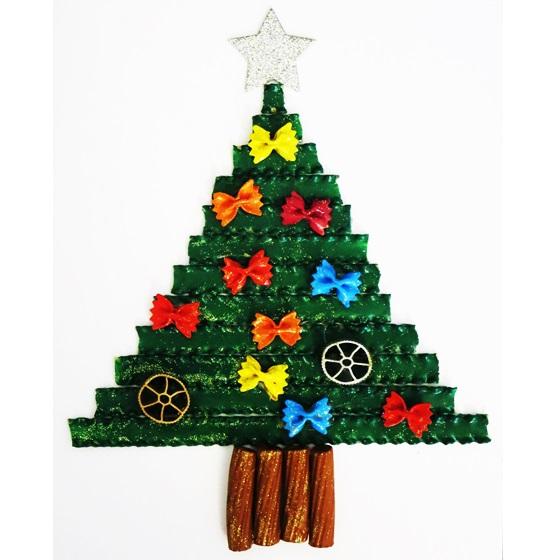 Alberelli Di Natale Lavoretti.Studiamando Liberamente Lavoretto Di Natale Alberello Di Pasta Cruda