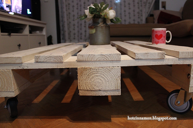 palet mesa blanco