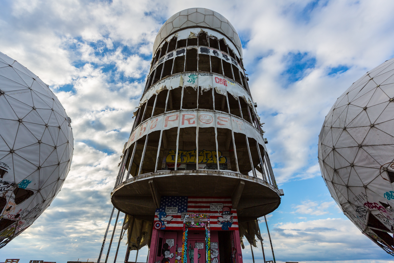 Teufelsberg Artworks Heavenly Creations On Devil S