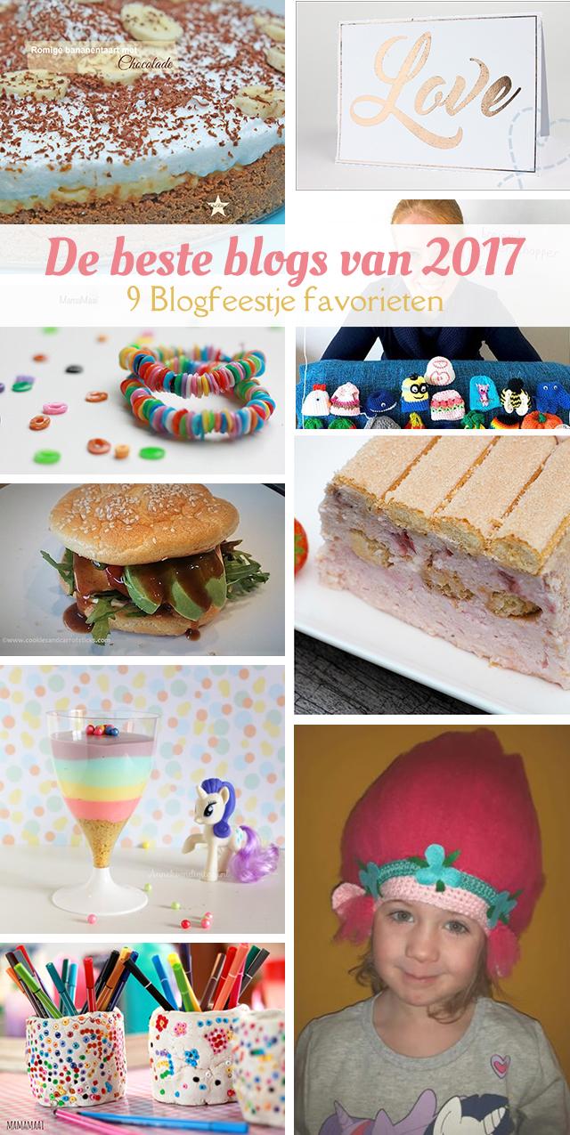 De uitslag van ons laatste blogfeestje, met 9 favorieten uit het beste van 2017!