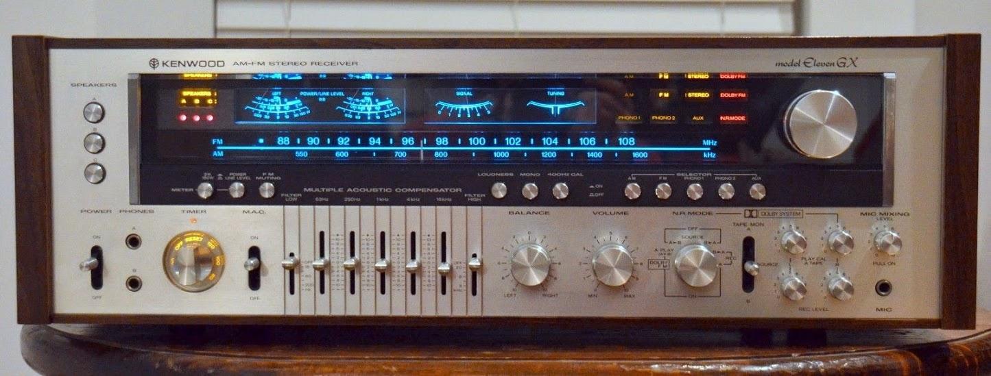 Kenwood Eleven GX - Analog Stereo Receiver   AudioBaza