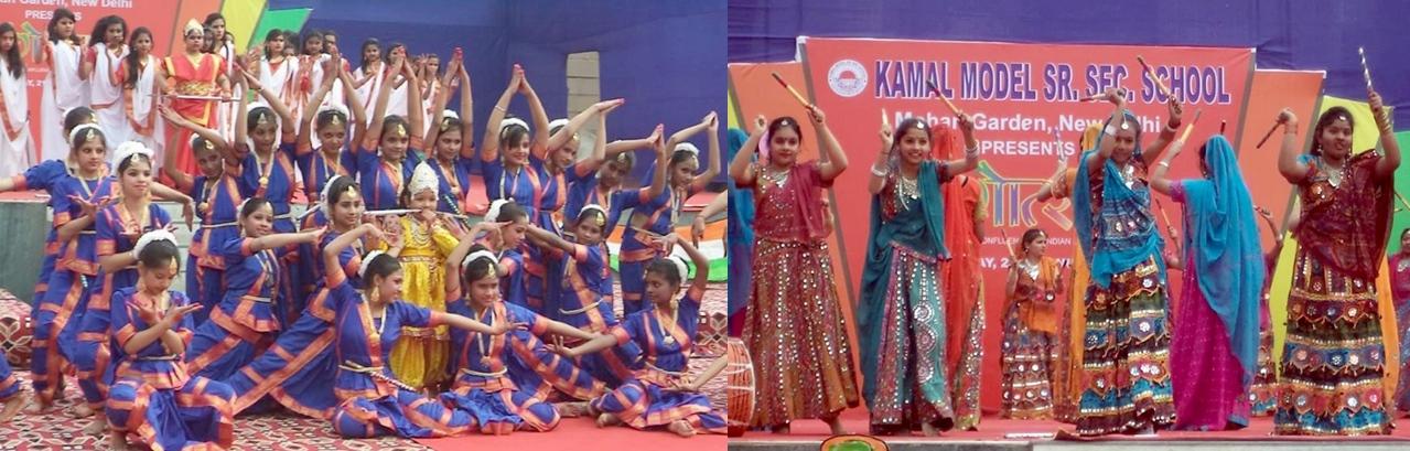 A gala Annual function celebration by Kamal Model Sr Sec