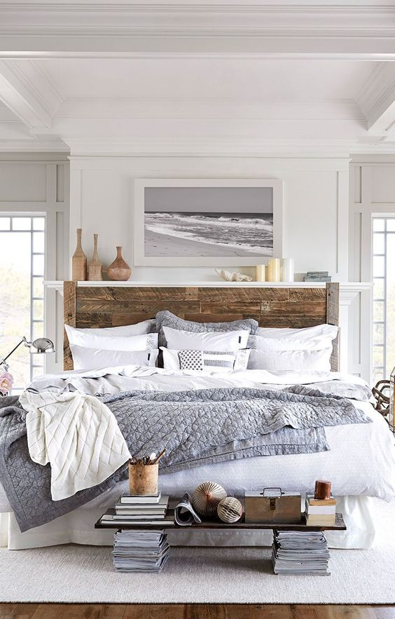 Simply Wright Modern Beach Guest Room Inspo