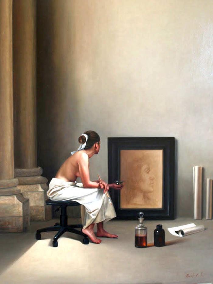 Талантливый художник-самоучка. Benito Leon 3