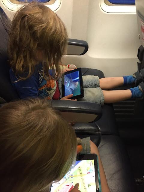 Tablet im Flieger: Apps und Tom & Jerry