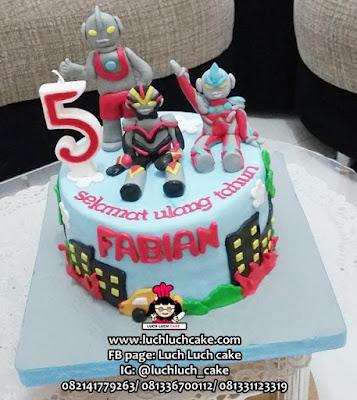 Kue Tart Fondant Ultraman