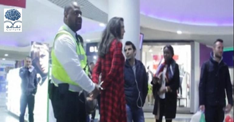 اكثر من 3 مليون مشاهدة .. شرطي يعتقل فتاة بعد رفضها الزواج منه!