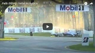 Palik őrjöng - Vettel és Kubica
