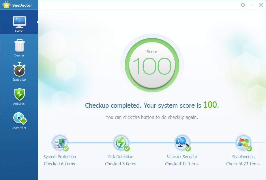 BeeDoctor أفضل برنامج على الإطلاق في تسريع جهازك و حمايته من الفيروسات مجانا