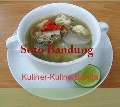yuk ikut aku melancong kuliner ke Bandung Resep Soto Bandung Aseliii Nikmatnya