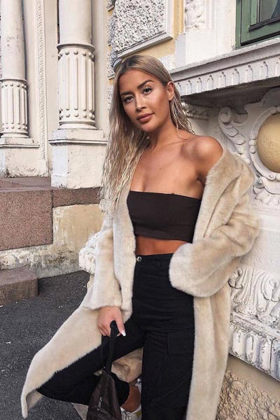 25+ Chilly Fall Outfits That Are Chic and Easy   Mini Bandeau