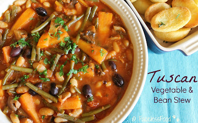 Tuscan Vegetable and Bean Stew