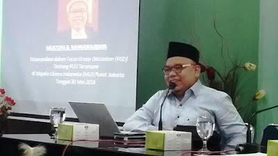 Mustofa B Nahrawardaya: Definisi Terorisme dan Radikalisme tidak Pernah Jelas