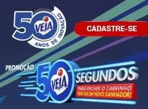 Promoção Veja 2019 50 Segundos Encher Carrinho - Prêmios, Participar