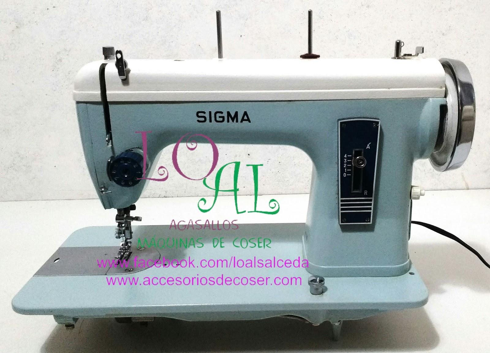Maquinas de Coser: MAQUINA DE COSER SIGMA 140