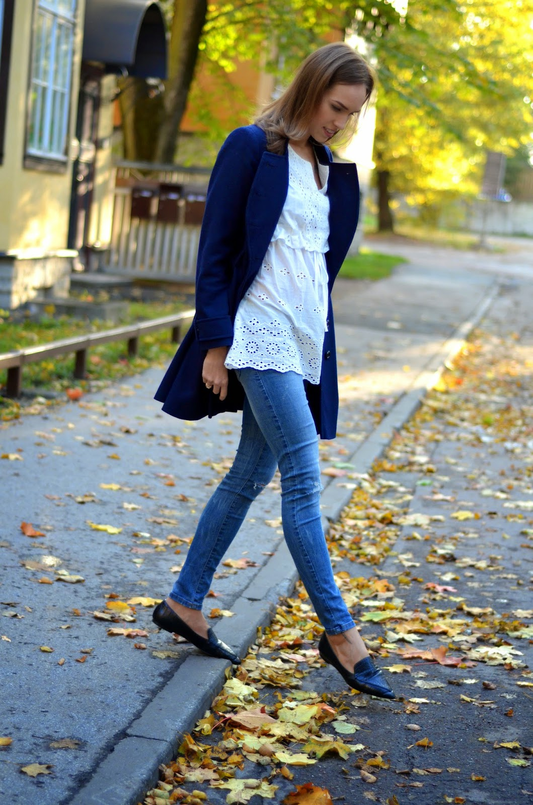 chicwish-white-boho-shirt-zara-jeans-asos-blue-coat