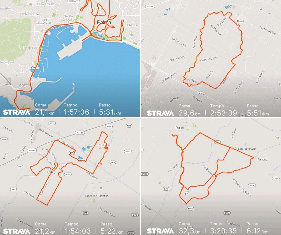 lunghissimi per la maratona