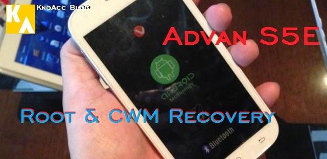Root Advan S5E KitKat dan Install CWM Recovery