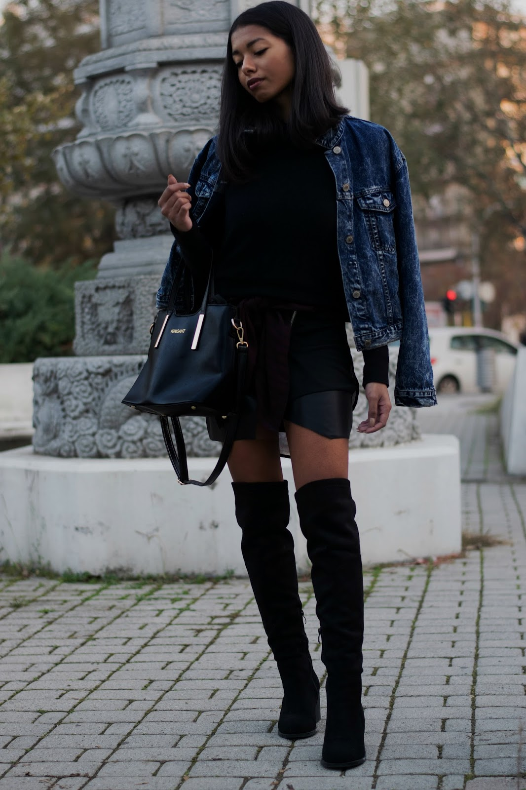 what to wear with a leather skirt 2016 outfit ideas