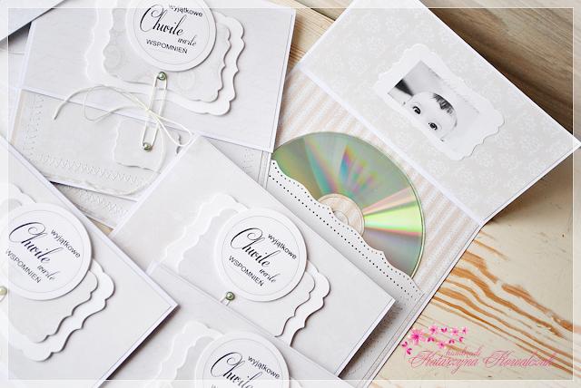 Foldery na płytę CD scrapbooking
