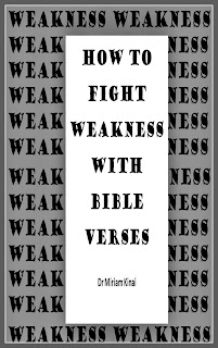 How to fight weakness with Bible verses