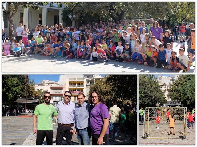 Άρτα: Ολοκληρώθηκε με επιτυχία το 1ο Παιδικό Φεστιβάλ Χάντμπολ στην πόλη της Άρτας