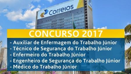 Apostila concurso Correios 2017 - Medicina e Segurança do Trabalho