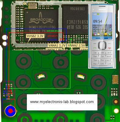 circuit diagram of nokia x2 00 electronics circuit application : nokia x2-00 mic solution ...