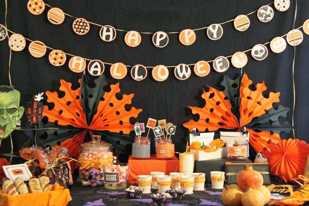 La petite maison candy bar de halloween - Ideas decoracion halloween fiesta ...