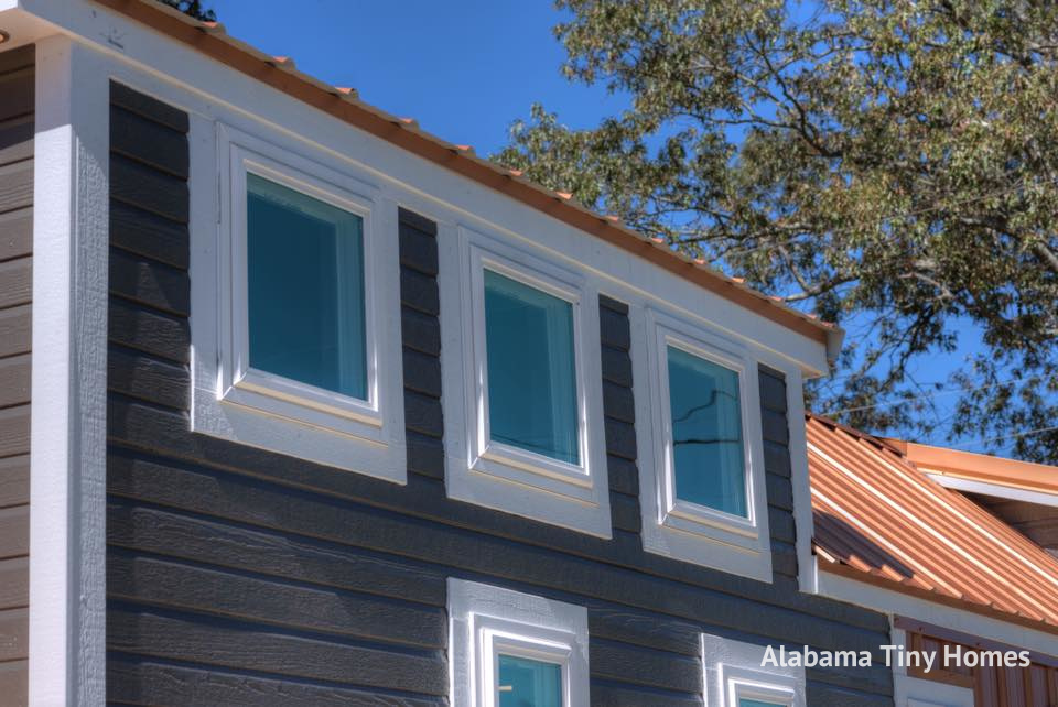 Tiny house town the trinity from alabama tiny homes for Home builders in south alabama