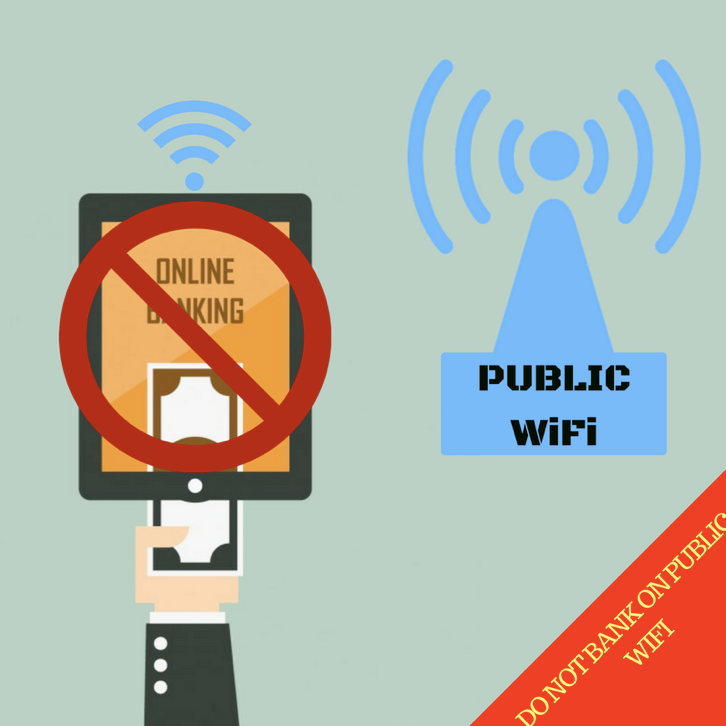 Do Not Bank on Public WiFi Network