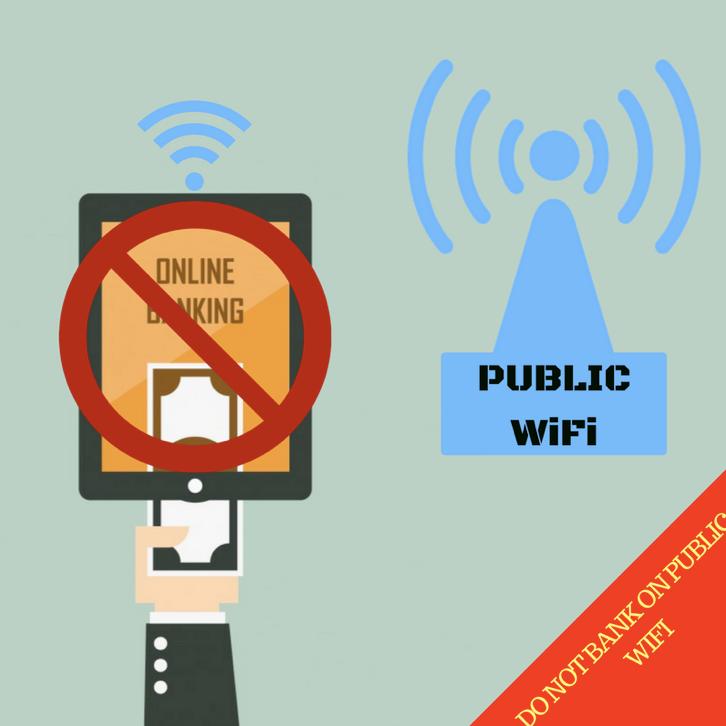 Do Not Bank on Public WiFi Network
