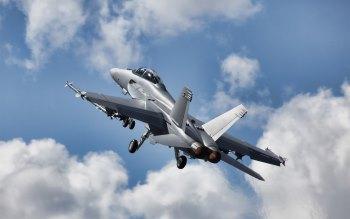 Wallpaper: FA-18 Super Hornet Fighter Aircraft