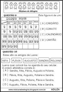 Simulado de Língua portuguesa 3º ano