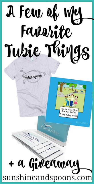 A few of my favorite tubie things + a giveaway!