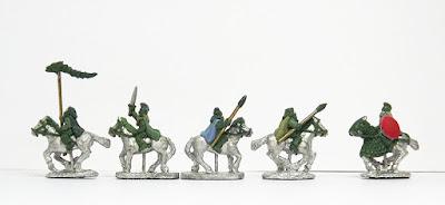 Light cavalry x 4 / Decebalus: