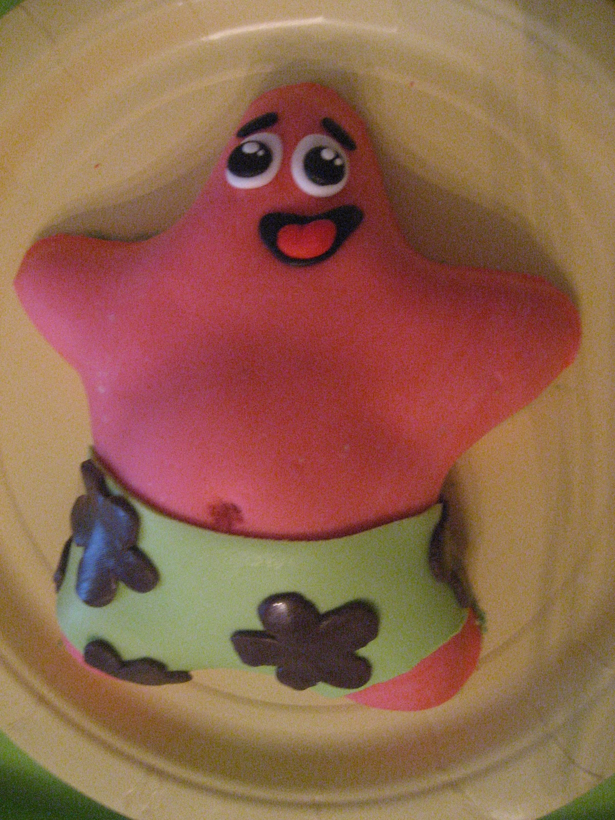 Wish I Had A Witty Comment Here Spongebob Amp Patrick Cake