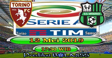 Prediksi Bola855 Torino vs Sassuolo 12 Mei 2019