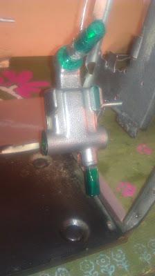 powder coat high-temp tape masking