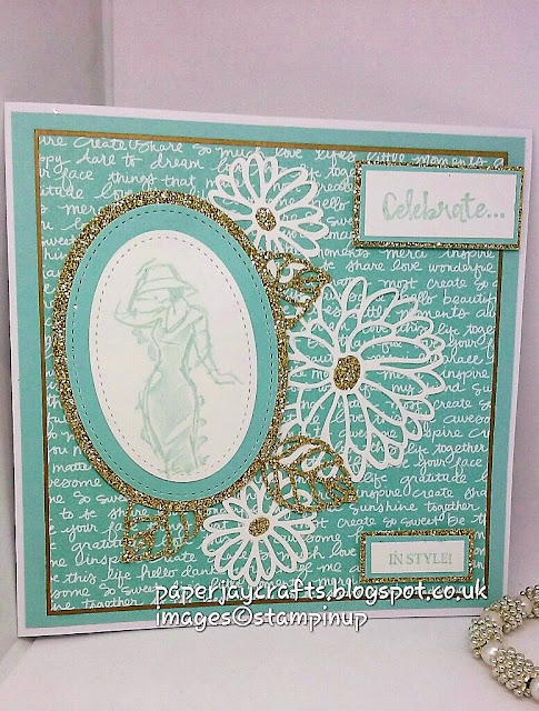 Paperjay Crafts, Beautiful You, Soft Sky, Stampin Up