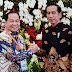 Walikota Lomban Tatap Muka dengan Presiden Joko Widodo