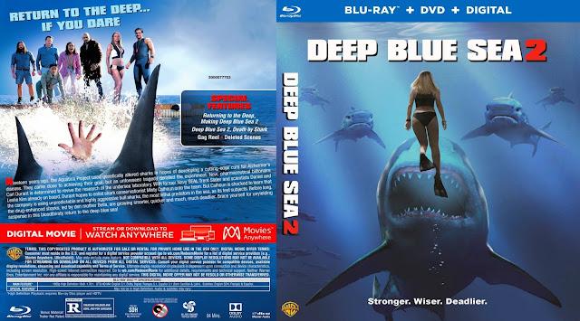 Deep Blue Sea 2 Bluray Cover