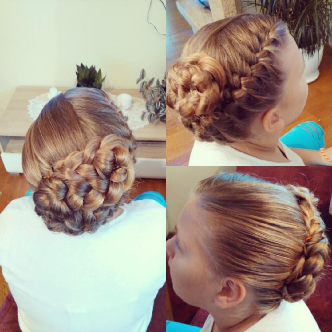 Hairstyles Delikatna Fryzura Na Krótkich Włosach Na 18